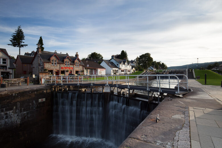 Caledonian Canal - Fort Augustus